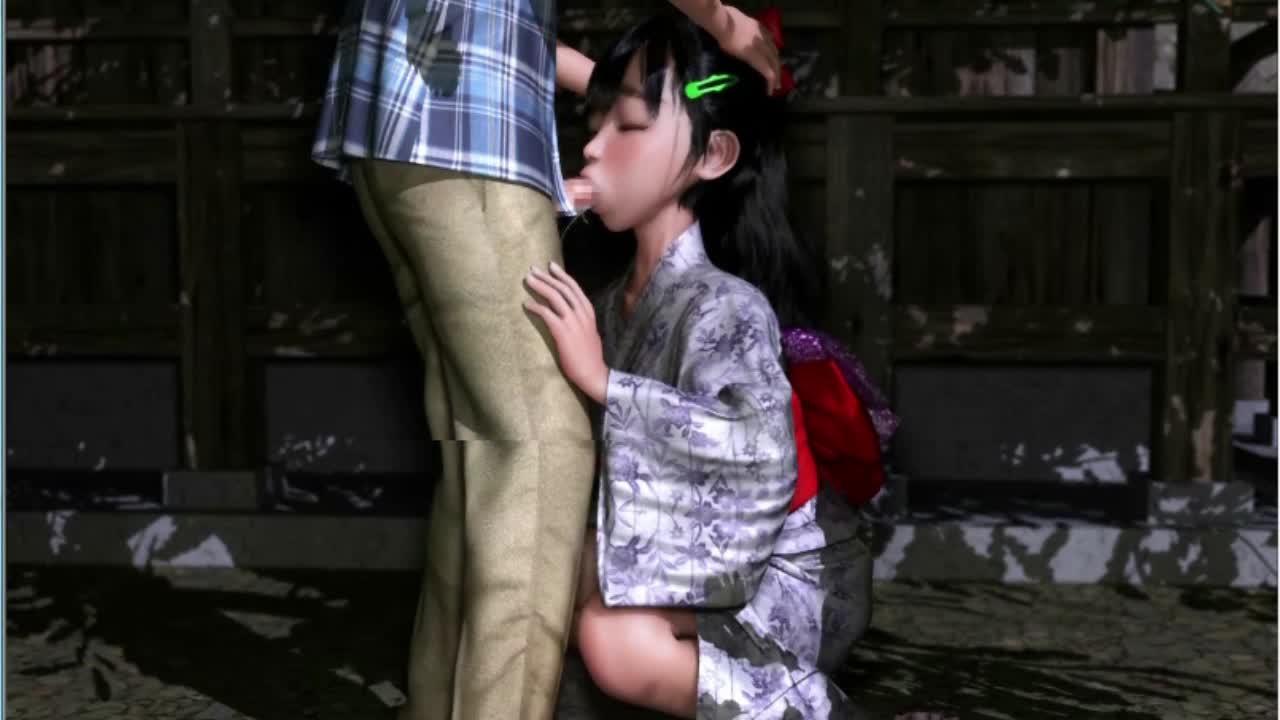 【18禁3Dアニメ】いきなり●学生の彼女ができたんでエロハメセックスしまくってやったw